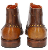 Master Pieces Shelby Handpainted Brogues Brown Cognac