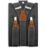 Sir Redman Bretels Luxe Don Diamond bruin/blauw
