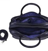 DSTRCT Robert black 15.6 inch laptoptas
