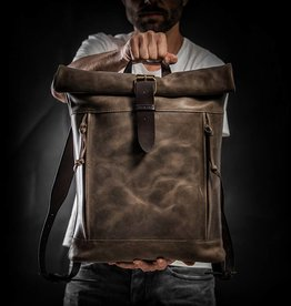 KrukGarage Rolltop backpack Craft