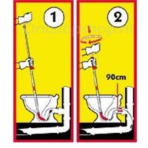 Cabere Germany WC ontstopper WC100 handige oplossing voor een smerige klus