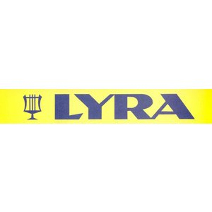 Lyra Viltstift watervast rood 1-4 per doosje | 10stuks -