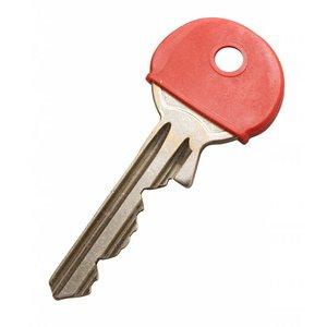 Kenkappen voor sleutels Wit 100 stuks