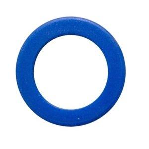 Kenringen voor sleutels 100 stuks Blauw