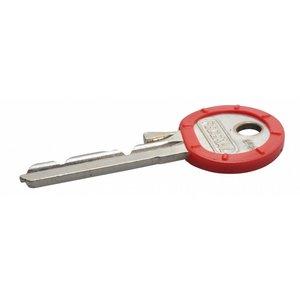 Kenringen voor sleutels 100 stuks Grijs