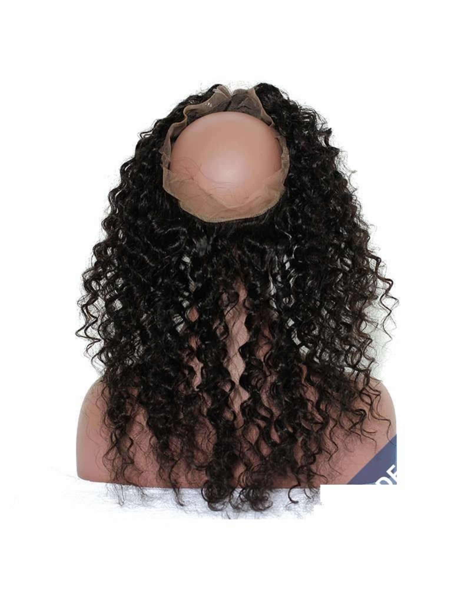 Caribbean Curly 360 Lace Frontal
