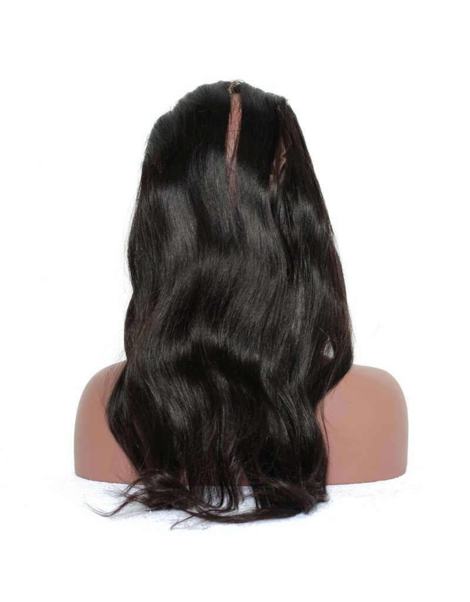 Raw Indian Natural Straight 360 Lace Frontal