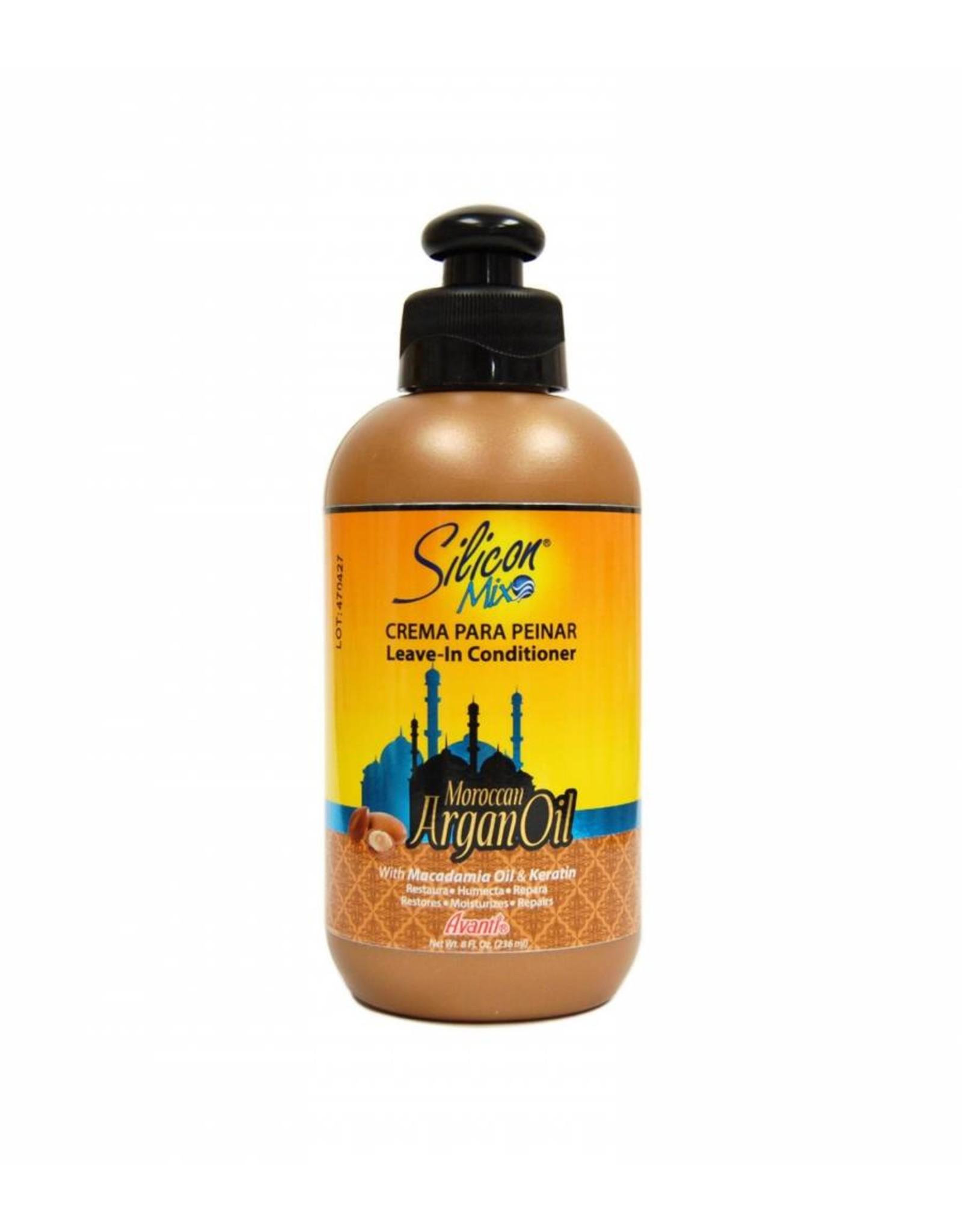 Silicon Mix Argan Oil Leave In Conditioner 8 oz