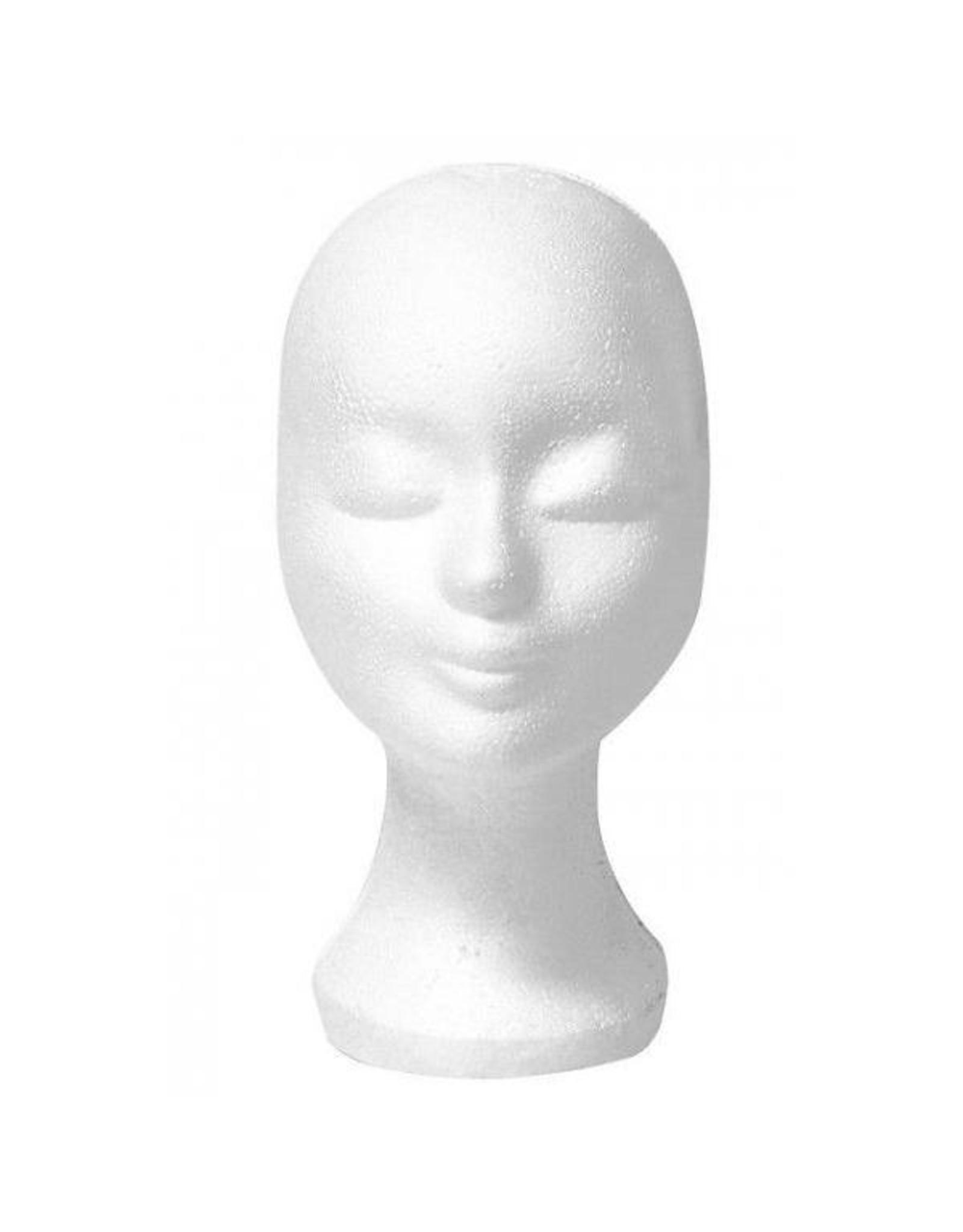Piepschuim hoofd