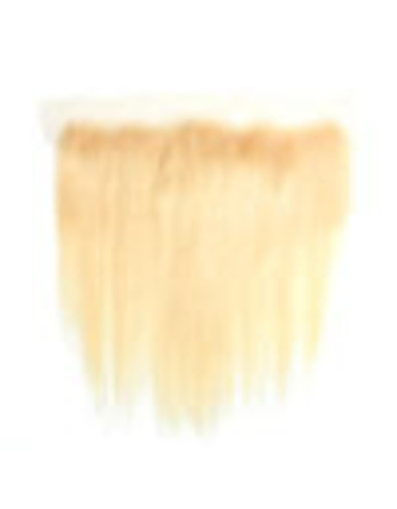 613 Blonde Natural Straight Frontal