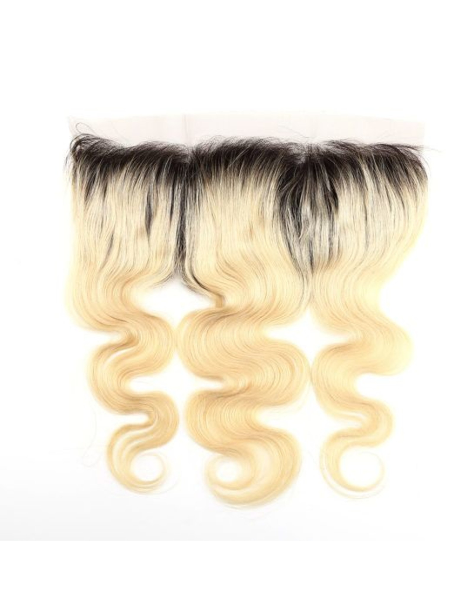 Ombre Blonde #1b/613 Body Wave Frontal