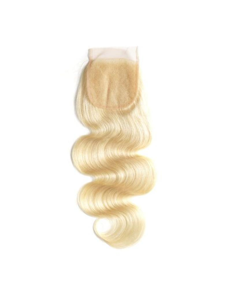 Blonde #613 Body Wave Lace Closure