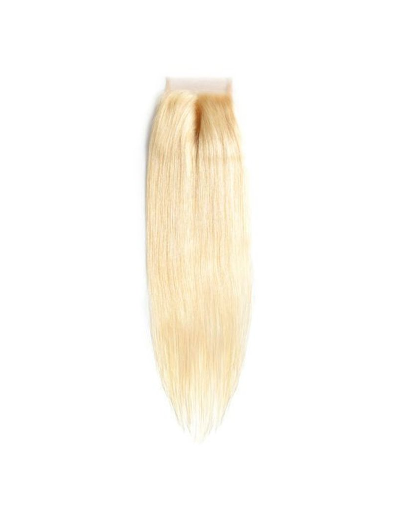 Blonde #613 Silky Straight Lace Closure