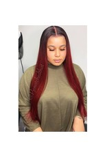 Cherry Red Frontal Wig