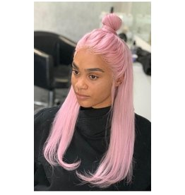 Candy Pink Frontal Wig