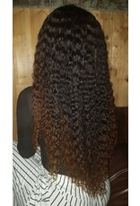 Ombre Chestnut Brown Frontal Wig