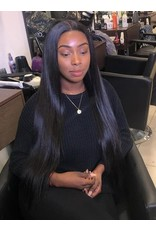 Raw Indian Natural Straight 13x4 Frontal Wig