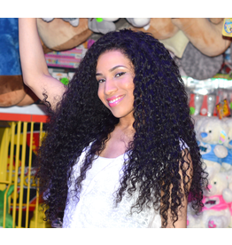 Caribbean Curly Frontal Wig