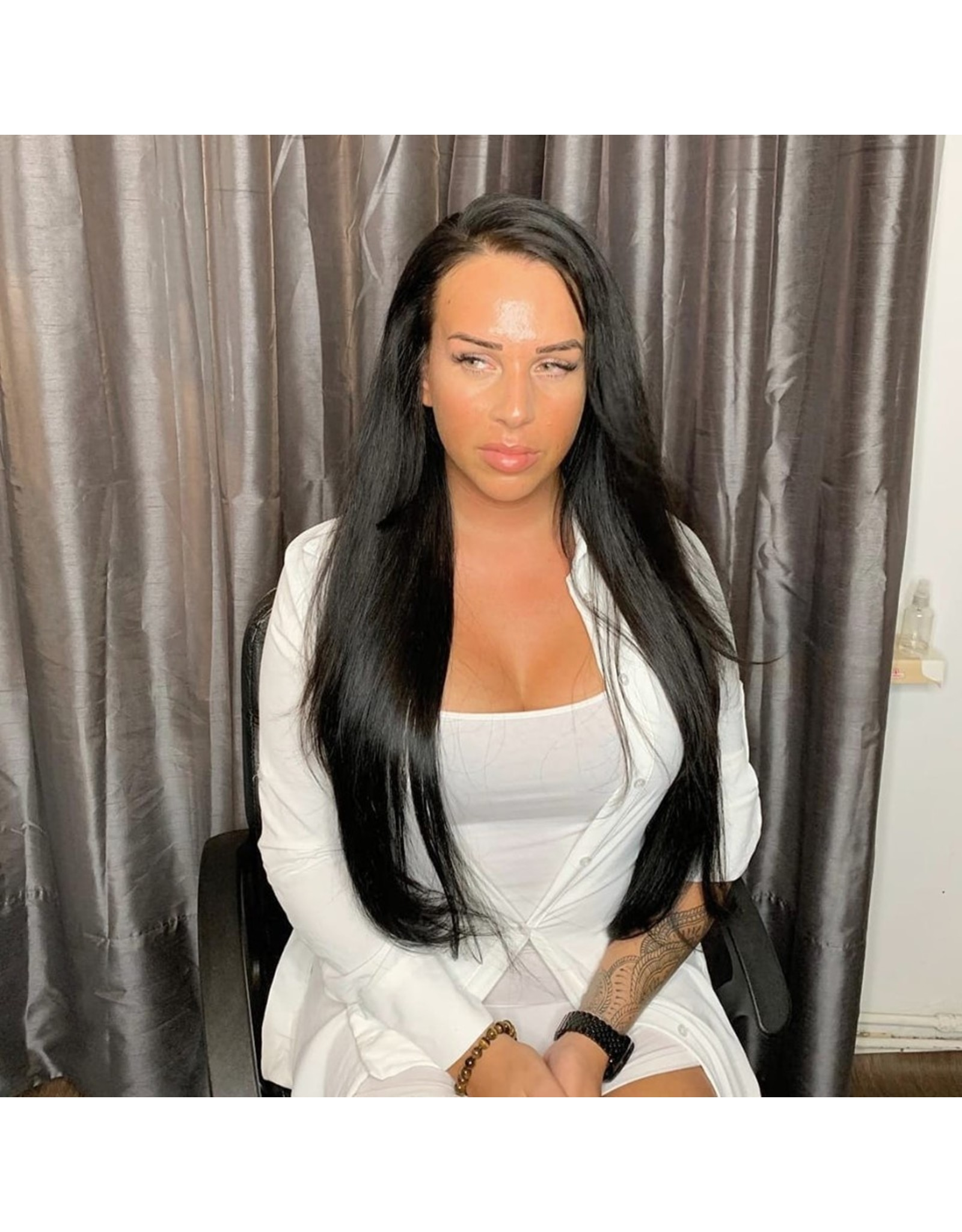 Raw Vietnamese Natural Straight Frontal Wig