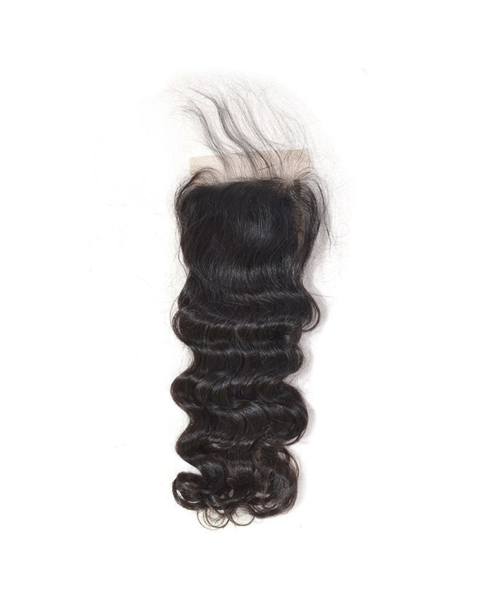 Raw Indian Natural Curly Lace Closure