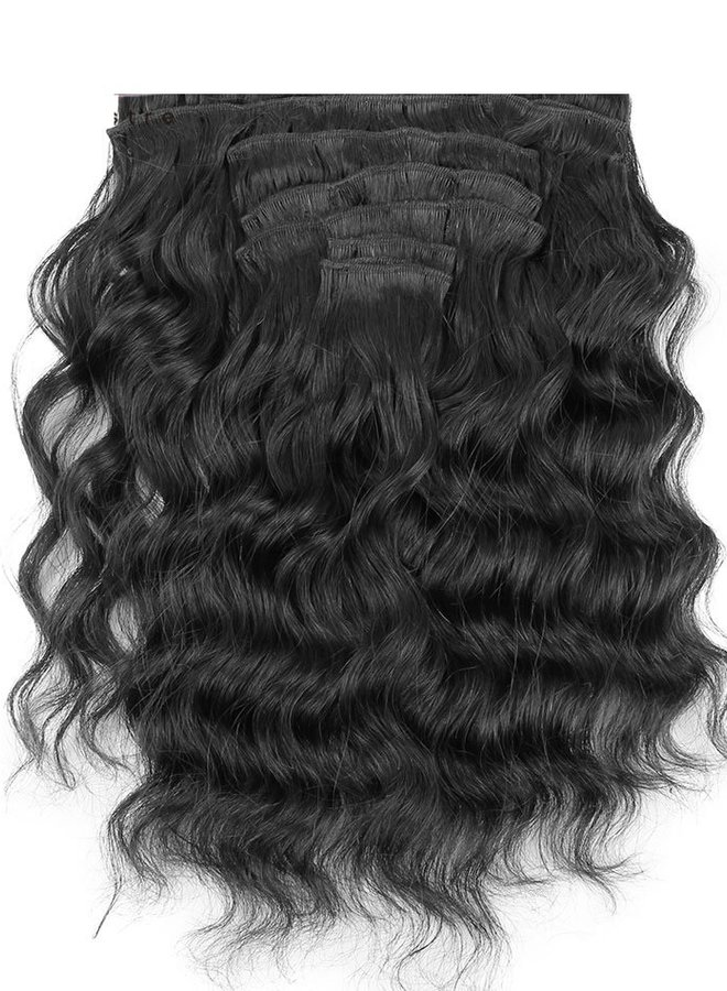Raw* Indian Loose Wave Clip Ins