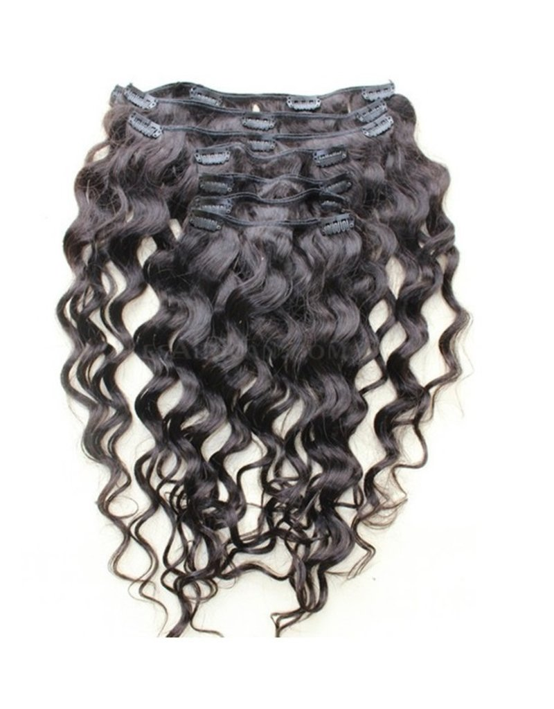 Moroccan Curly Clip Ins