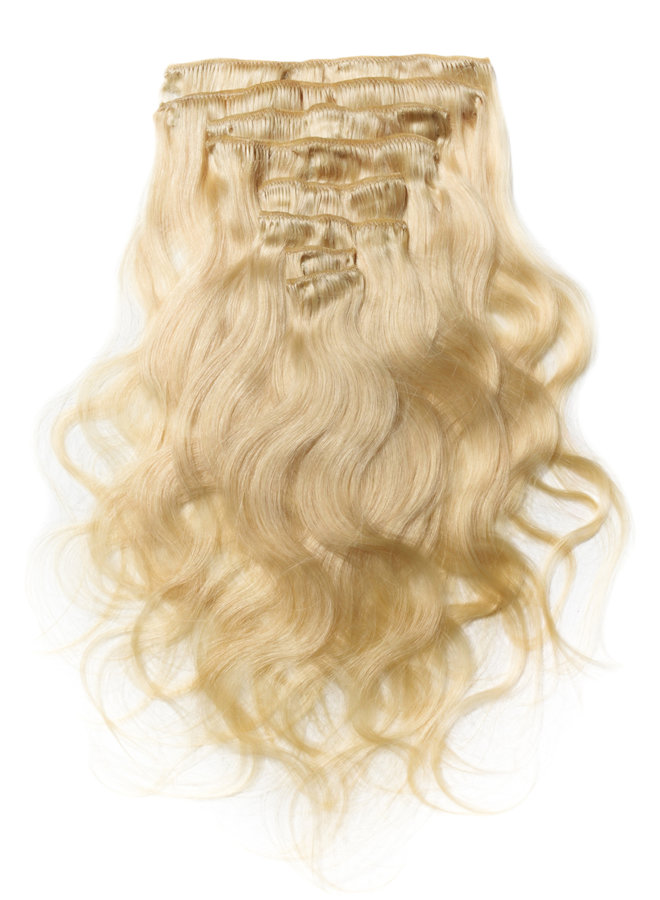Raw* Indian 613 Blonde Body Wave Clip Ins