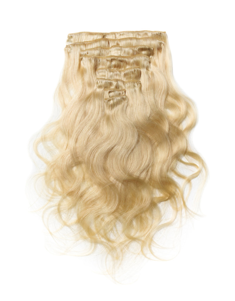 613 Blonde Body Wave Clip Ins