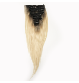 1b/613 Blonde Natural Straight Clip Ins
