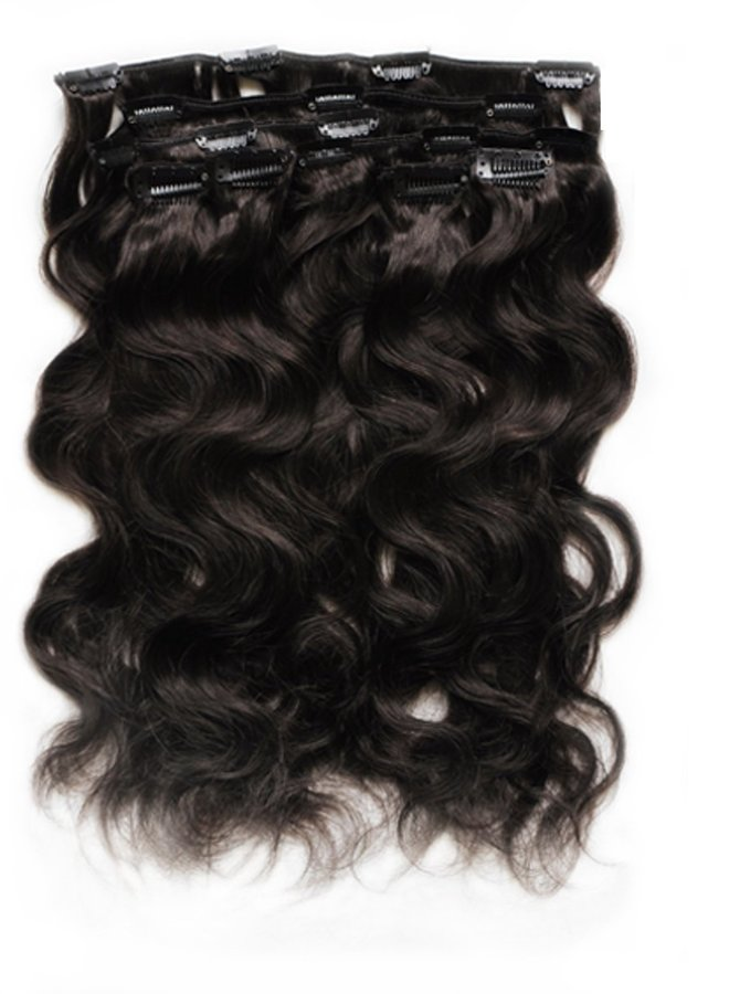 Raw* Indian Body Wave Clip Ins