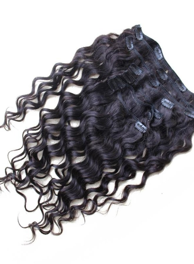 Raw* Indian Moroccan Curly Clip Ins