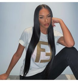Raw Indian Natural Straight Frontal Wig
