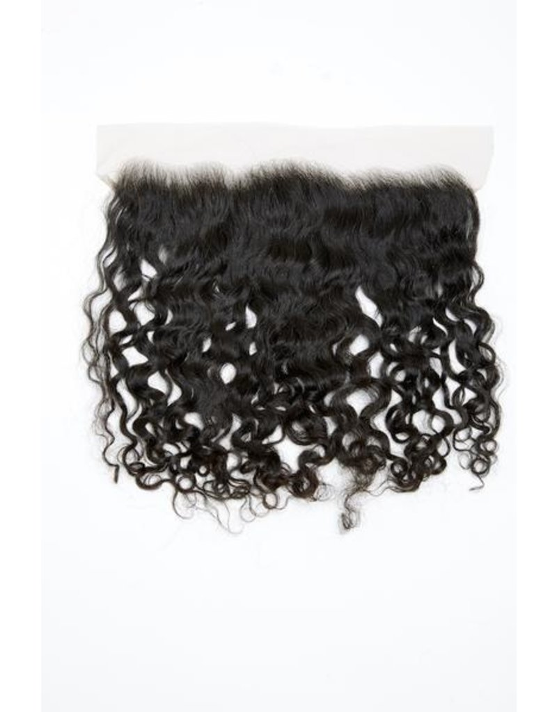 Raw Indian Natural Curly Lace Frontal