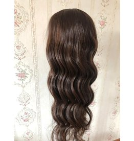 Tweedehands U Part Wig Chocolate Brown