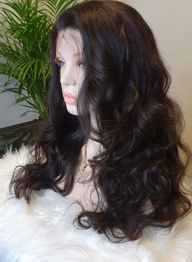 """HD Frontal Wig Raw* Indian Body Wave 20"""""""