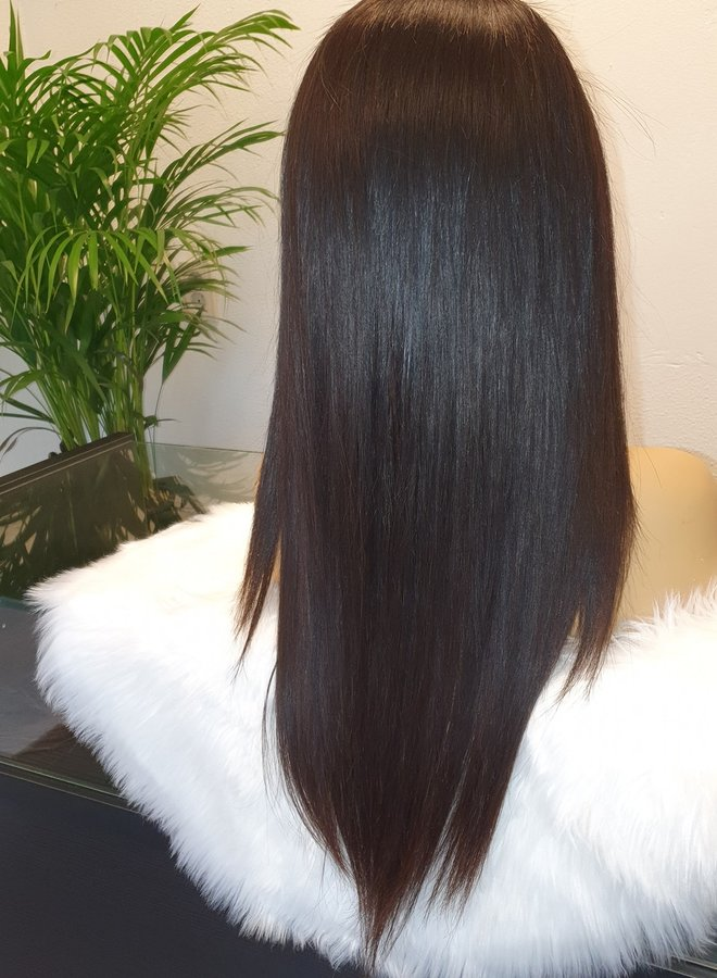"""HD Frontal Wig Raw Indian Straight 22"""""""