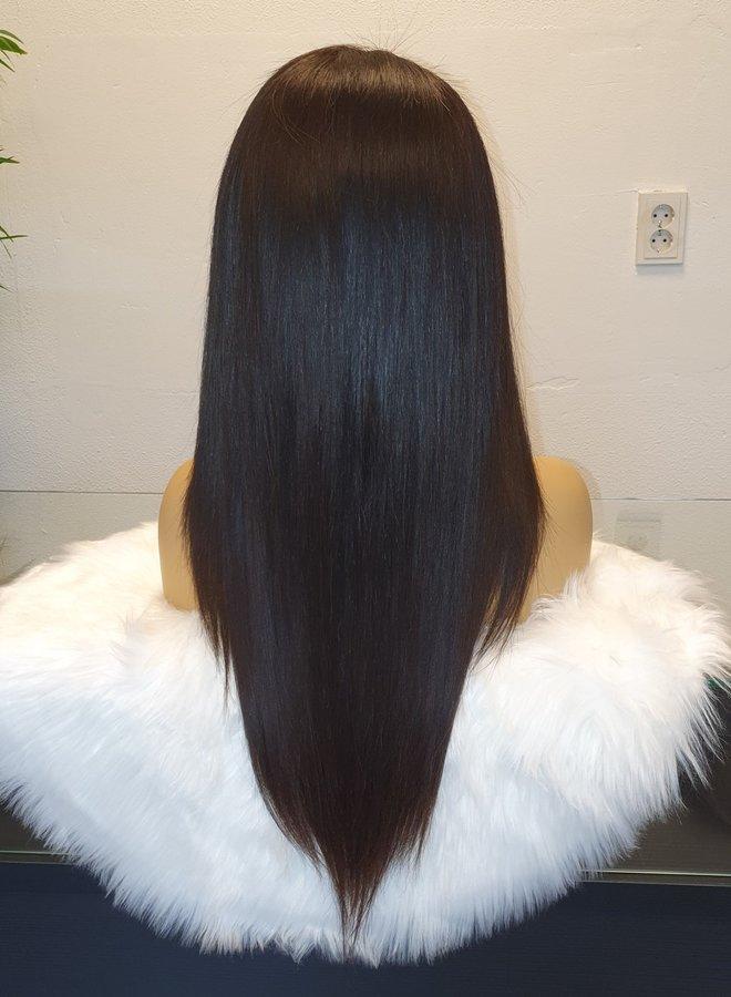 "HD Frontal Wig Straight 20"" Raw Hair"