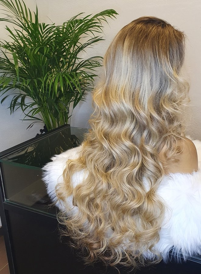 """Frontal Wig 26"""" Ombre Ash Blonde"""