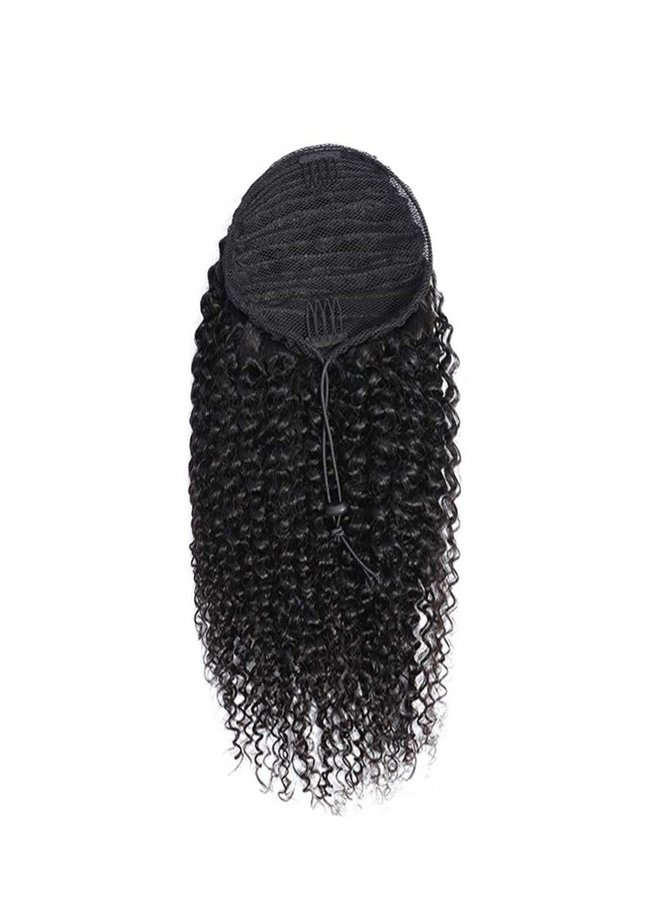 Raw* Indian Kinky Curly Ponytail
