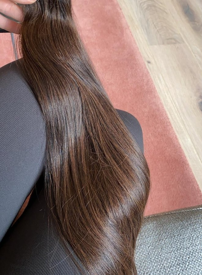 Brown Raw Vietnamese Natural Straight