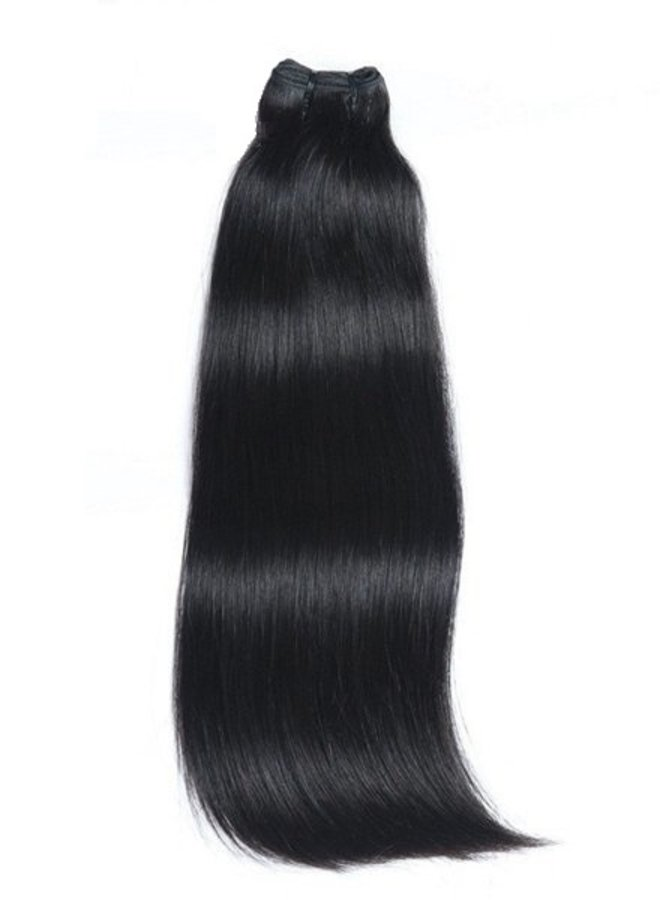 Jet Black  Raw Vietnamese Straight