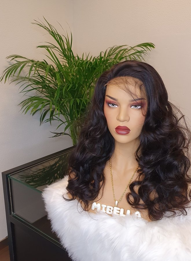 """Closure Wig Body Wave 18"""" Capsize Small"""