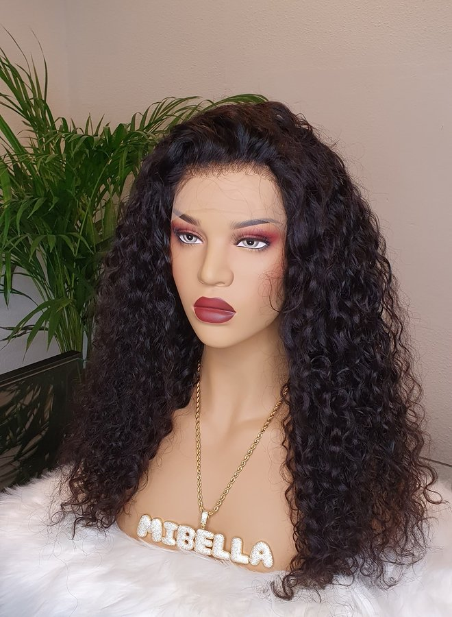 Frontal Wig Curly 18""