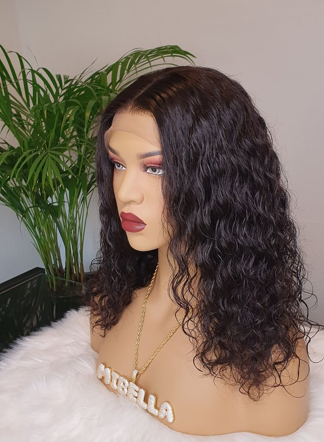 """Frontal Wig Moroccan Curly 14"""""""