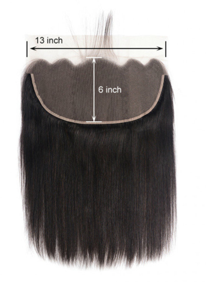 Raw Indian 13x6 Frontal Straight