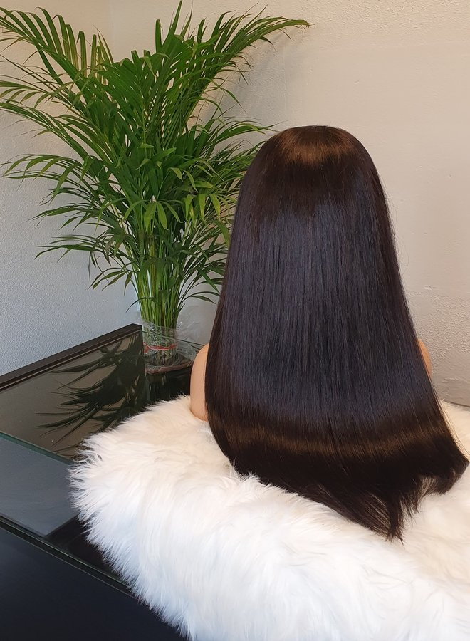 "Frontal Wig 20"" Raw Vietnamese Hair - Three part"