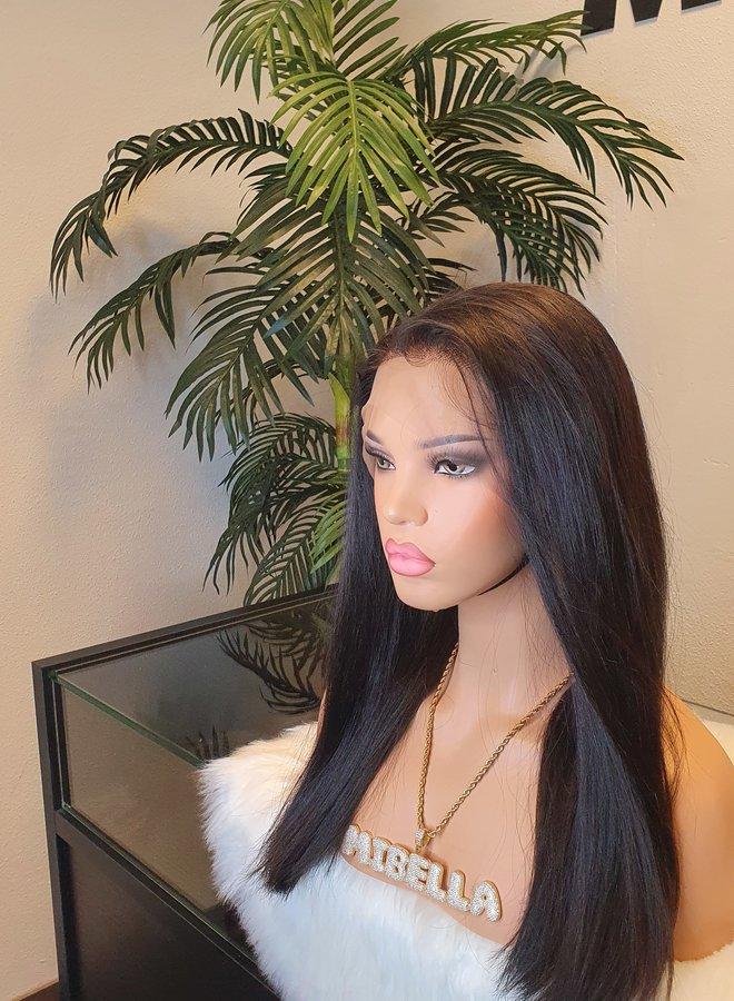 "Frontal Wig 16"" Raw Vietnamese Hair"