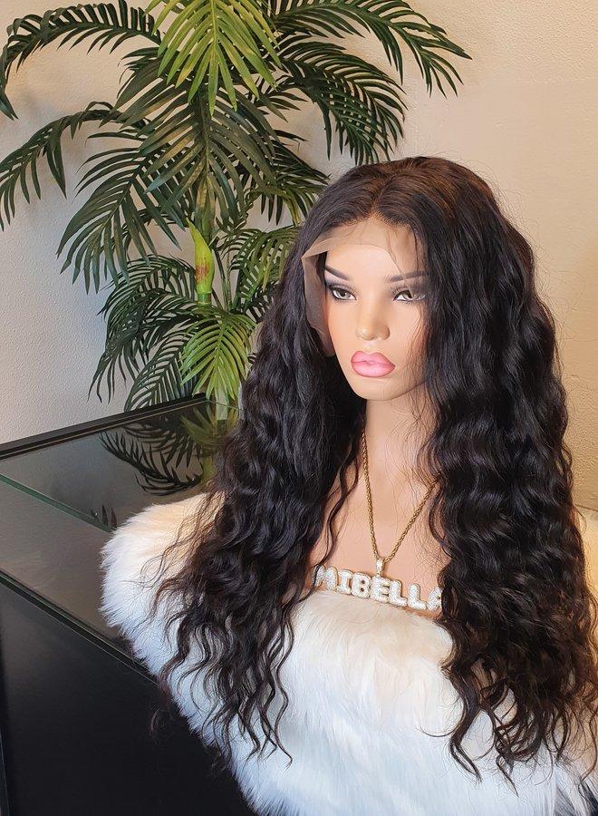 "Frontal Wig Raw Vietnamese Loose Wave 24"""