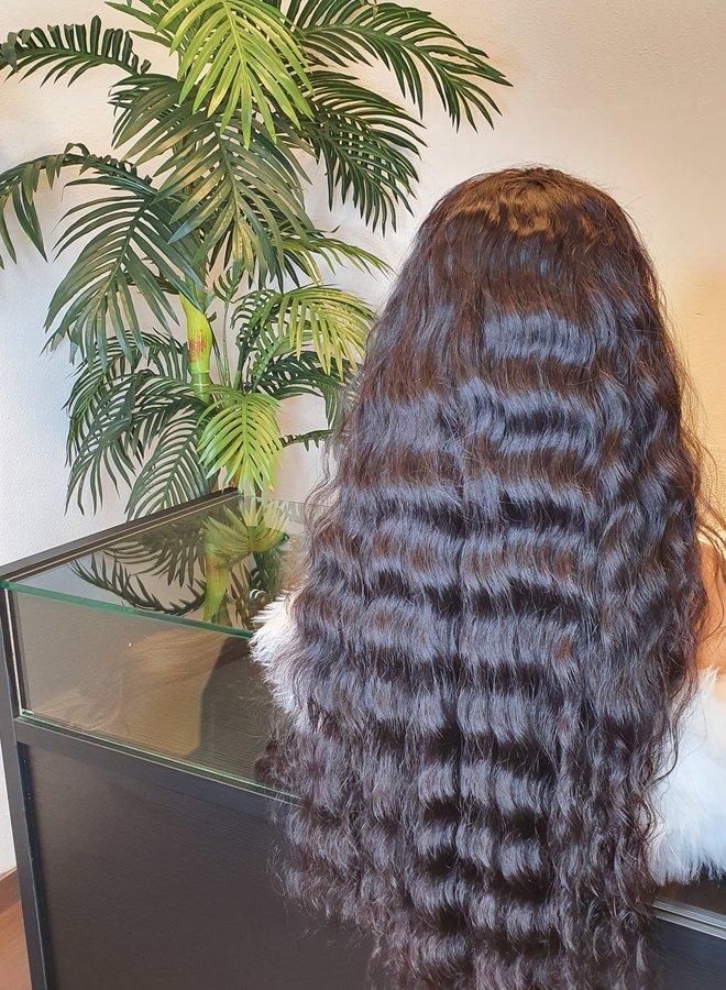 "Frontal Wig Raw Vietnamese Loose Wave 26"""