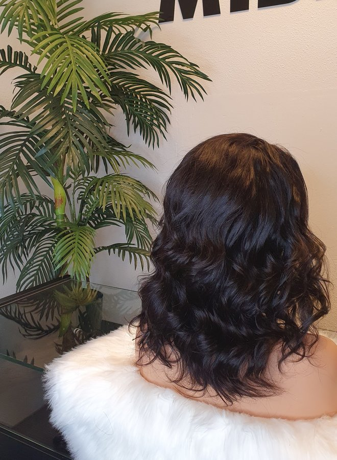 """Frontal Wig Body Wave Remy Hair 12"""""""